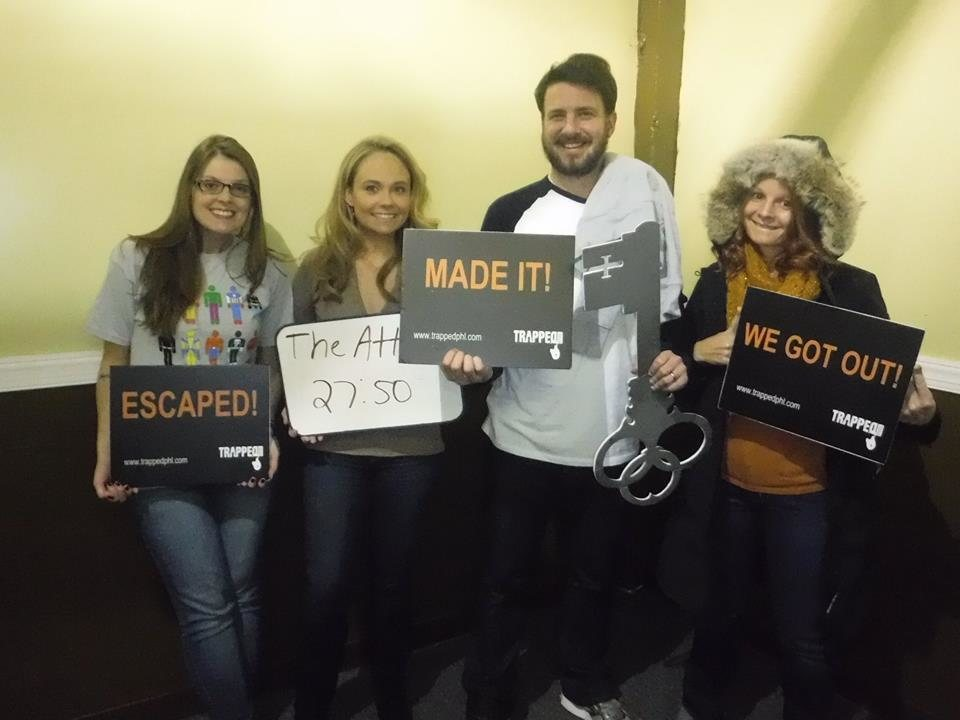 Trapped Philly Escape Room - Pennsylvania Haunted Houses